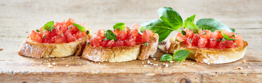 Fingerfood Bruschetta